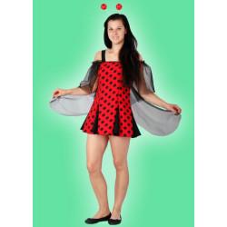 Karnevalový kostým BERUŠKA - šaty