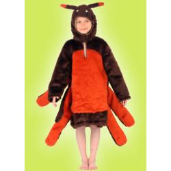 Karnevalový kostým PAVOUK - pelerína s kapucí