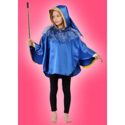 Karnevalový kostým KOUZELNÍK 2 - pelerína s kapcí