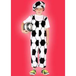Karnevalový kostým FOTBALISTA - plyšové kalhoty, čepice