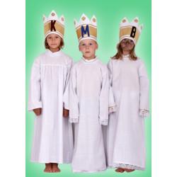 Karnevalový kostým KOŠILE JEDNODUCHÁ BÍLÁ