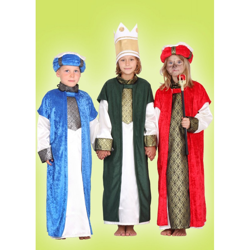 Karnevalový kostým MELICHAR - modrý