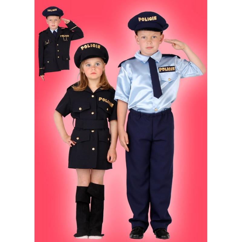 Karnevalový kostým POLICISTKA - šaty