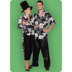 Karnevalový kostým Černobílý frak