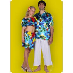 Karnevalový kostým Havajka - sukně,vrchní díl   vyprodáno!!!