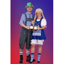 Karnevalový kostým Bavoranka I - sukně, halena, spodnička