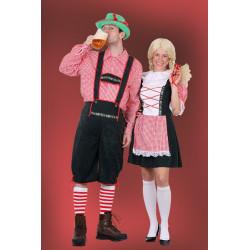 Karnevalový kostým Bavoranka II - šaty