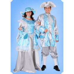 Karnevalový kostým Rokoko pán - horní díl. kalhoty
