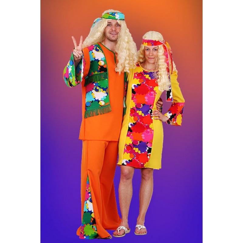Hippie šaty II šaty, čelenka