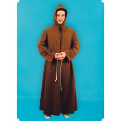 Karnevalový kostým MNICH - plášť s kapucí