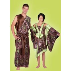 Karnevalový kostým JAPONKA - šaty
