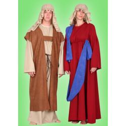 Karnevalový kostým MARIE - šaty, čepice