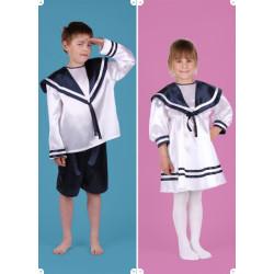 Karnevalový kostým NÁMOŘNICE - šaty