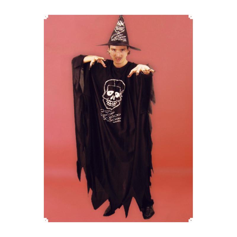 Karnevalový kostým UPÍR - plášť, klobouk