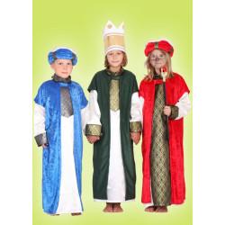 Karnevalový kostým KAŠPAR - zelený