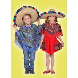 Karnevalový kostým Mexičanka - šaty