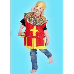 Karnevalový kostým Rytíř - horní díl,helma