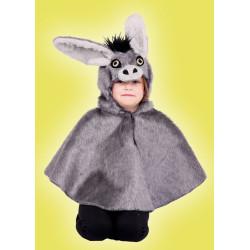 Karnevalový kostým Osel pelerína - pelerína s kapucí