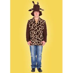 Karnevalový kostým Žirafa - sako,klobouk