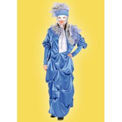 Karnevalový kostým Benátčanka s kloboukem - šaty,klobouk
