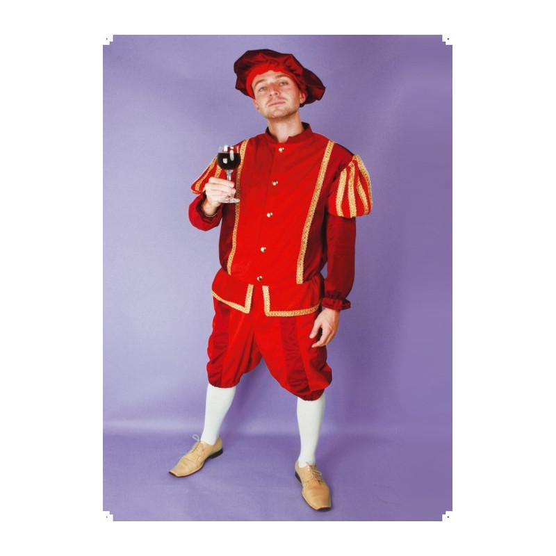 Karnevalový kostým PRINC - kalhoty, horní díl, čepice