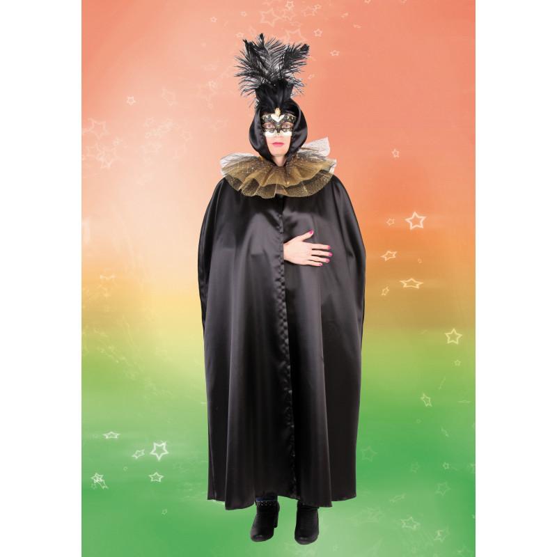 Benátčanka s límcem - plášť, límec