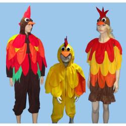 Karnevalový kostým KUŘE