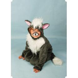 Karnevalový kostým KOČKA - kombinéza s kapucí