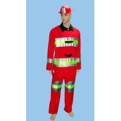 Karnevalový kostým  Hasič - horní díl, kalhoty