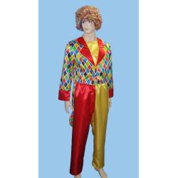 Karnevalový kostým Klaun - kalhoty, frak