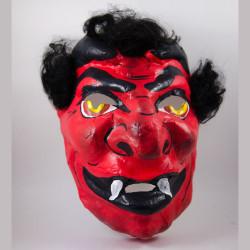 Maska čert červený dospělý