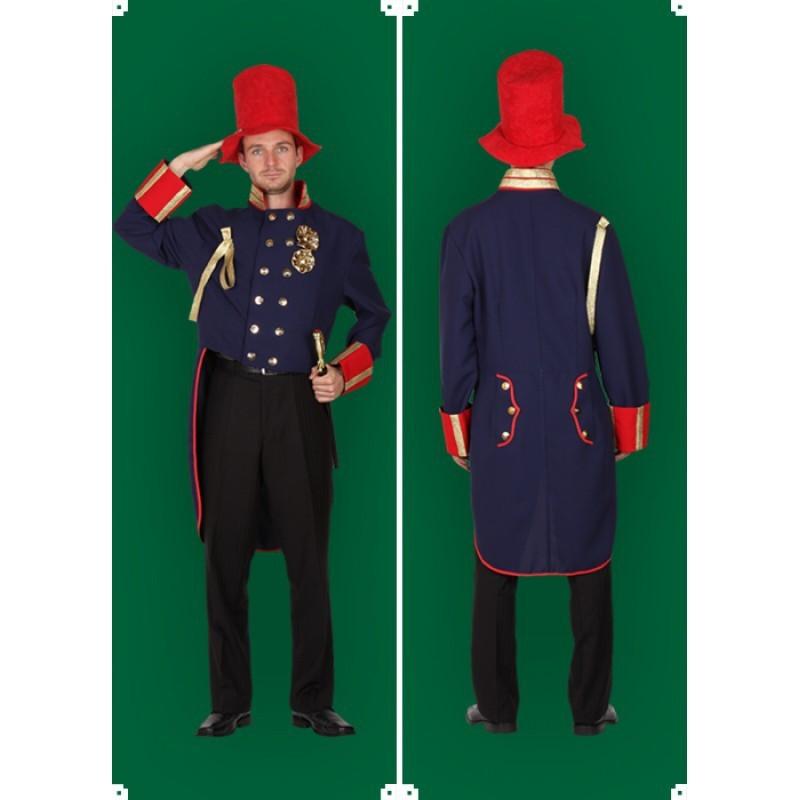 Masopustní kostým  VOJÁK- frak,klobouk