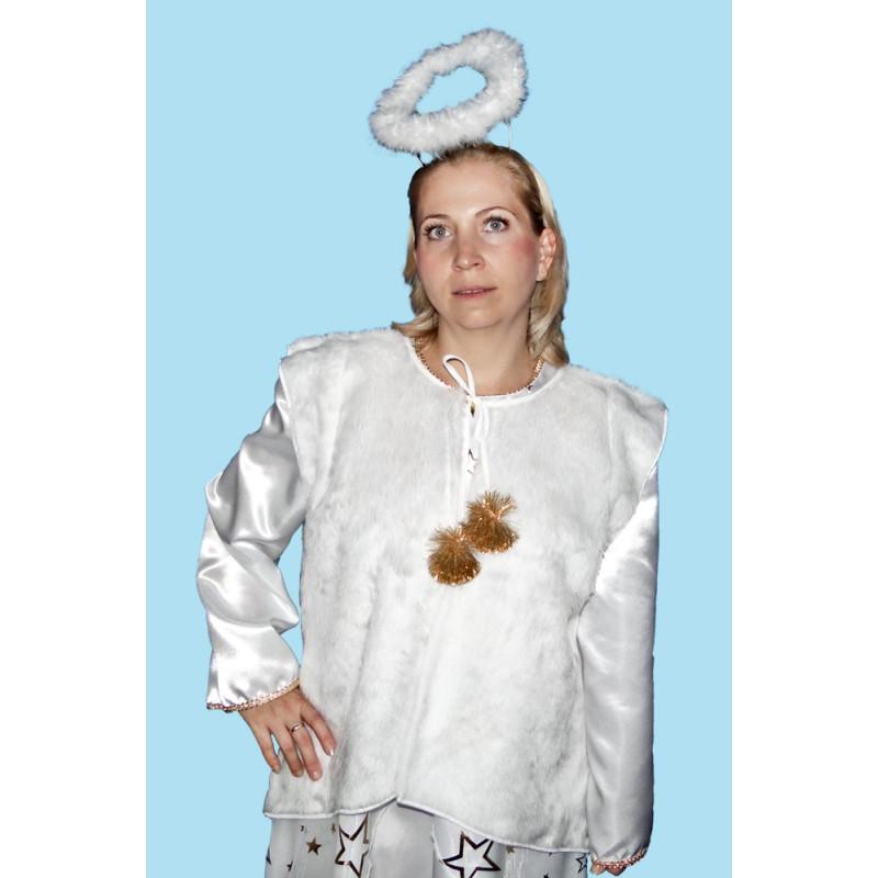 Karnevalový kostým  PLÁŠTÍK K ANDĚLOVI                                   pláštík bez rukávů
