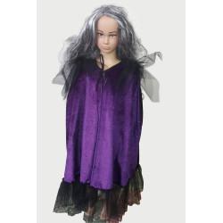 Karnevalový kostým            Čarodějnice -plášť dětský