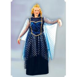 Karnevalový kostým KRÁLOVNA NOCI - šaty