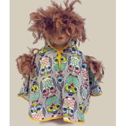 Karnevalový kostým  Pelerína Sova       pelerína