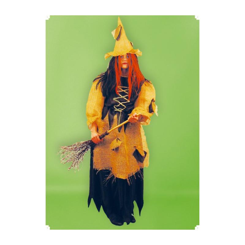 Karnevalový kostým ČARODEJNICE I - šaty, klobouk