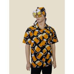 Karnevalový kostým  Pivo košile                                                        košile