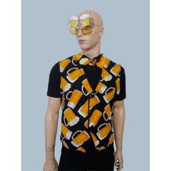 Karnevalový kostým Pivo - Vesta+motýlek