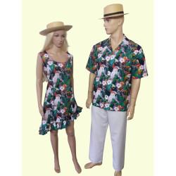 Karnevalový kostým Havaj šaty