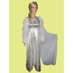 Karnevalový kostým Popelka svatební                                                                 šaty