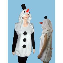 Karnevalový kostým  Snehulák