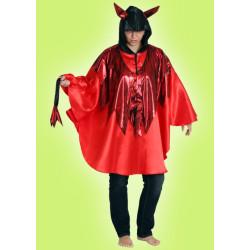 Karnevalový kostým DÁBEL - pelerína s kapcí